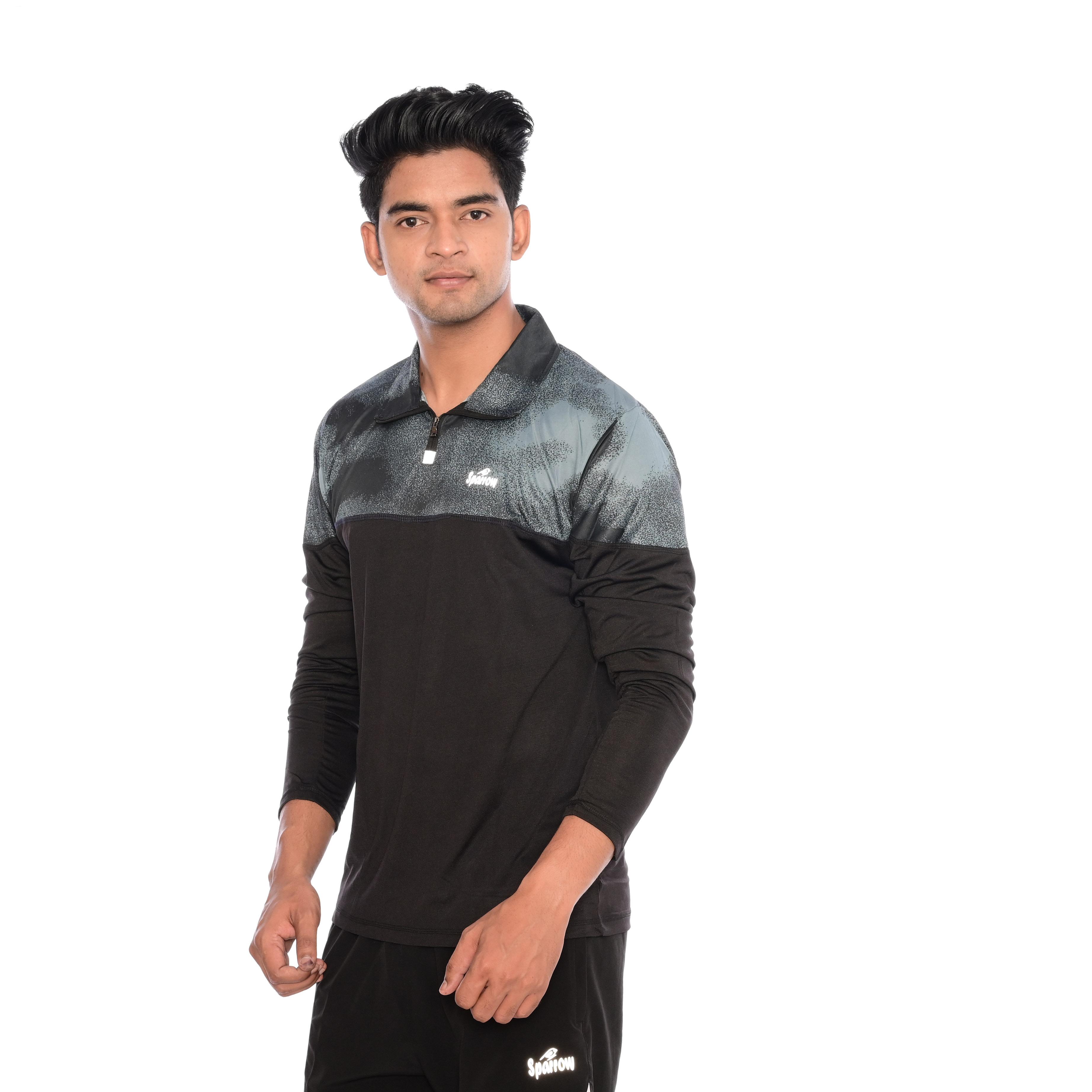 Full Sleeves Lycra Sports T-shirts